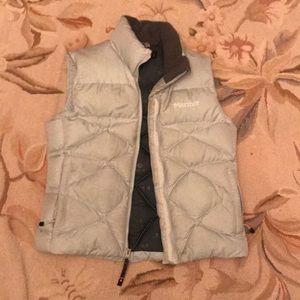 Gray Marmot Puffer Down Vest